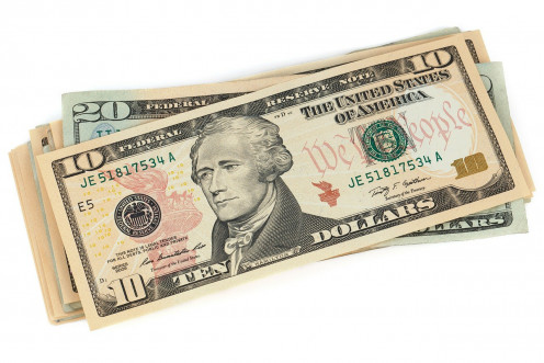 This stack of dollar bills symbolizes one of the main things that is very valuable in the episode Magic Gadget.