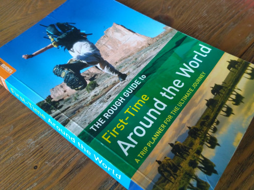 First time around the world travel guide by Rough Guides