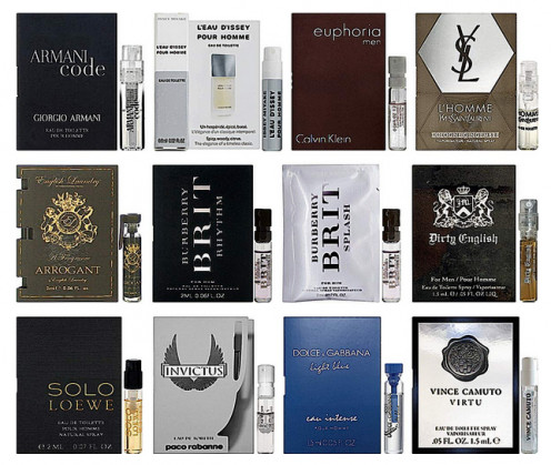 Designer Fragrance Samplers for Men