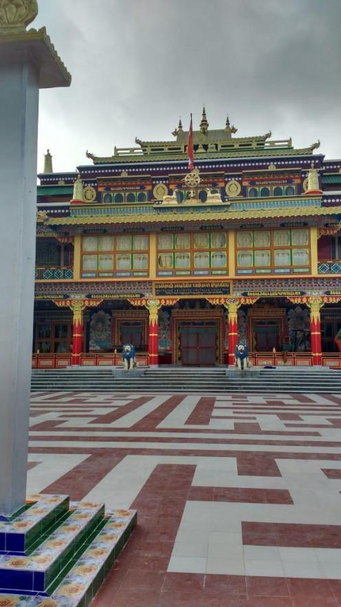 The beautiful monastery