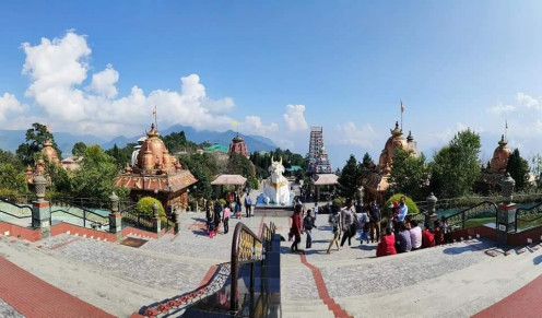 A vantage point from where the beauty of Char Dham can be witnessed