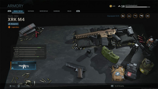 """Call of Duty MW"" Armory"