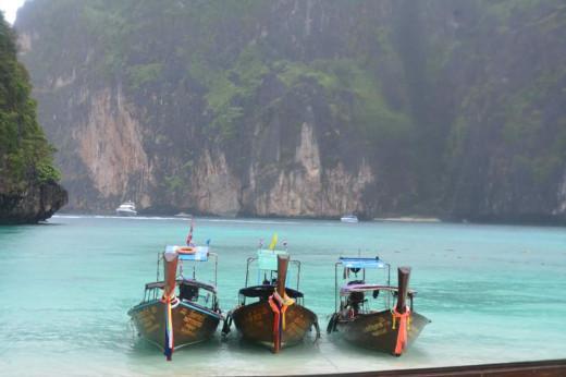 Beach in Phi Phi