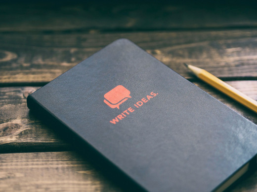 Write down your ideas