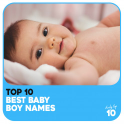 Top 10 Best Baby Boy Names Based on Famous Celebrities!