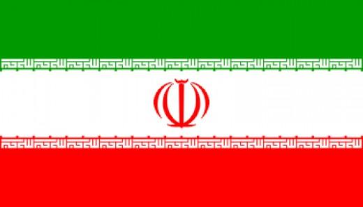 Iran flag, flag of iran