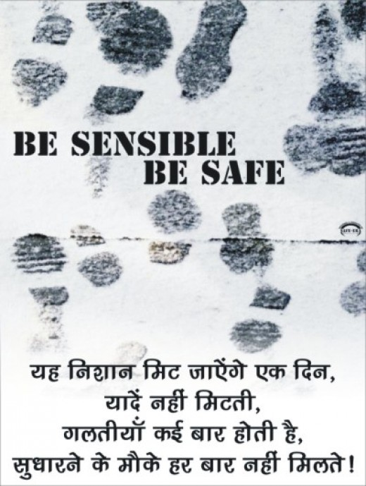 Your safety is everyone's responsibility, especiallyyours.