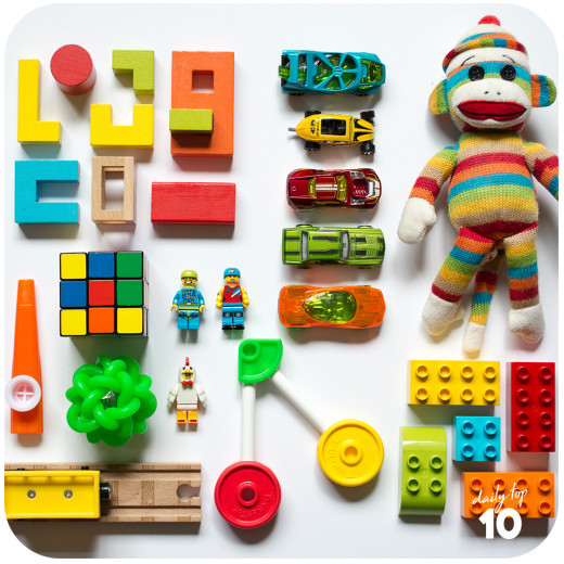 Toys are the staple gift for kids worldwide.