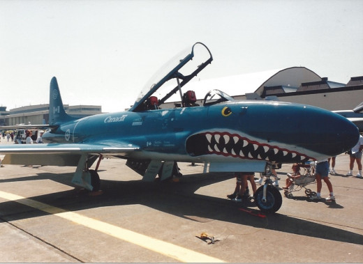 A Canadian Air Force, T-33, 1992.