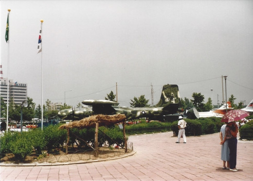 A B-26 (A-26) Invader at hte Korean War Museum, Yoido Island, August 1991.