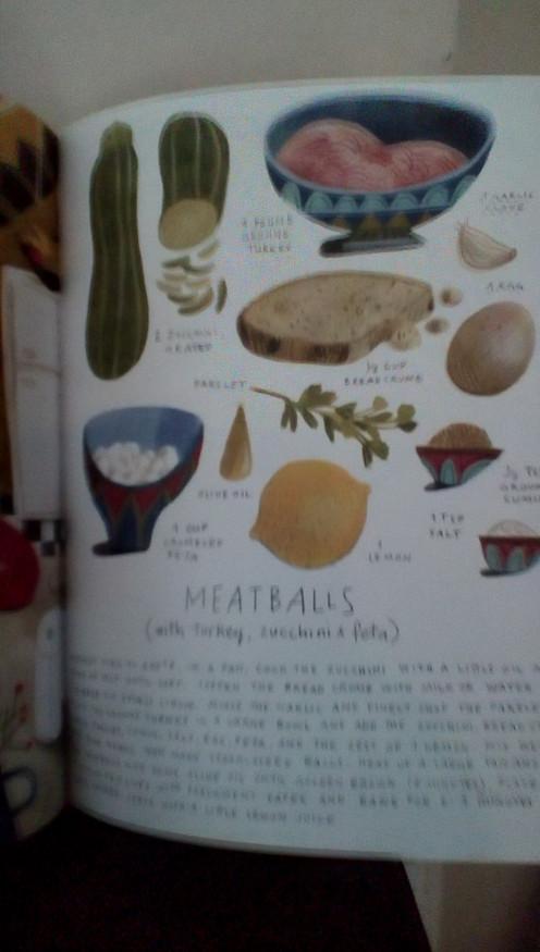 Meatballs prepared by Josef and Rafik