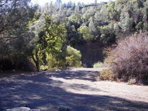 Remote rest area in Cache Creek Regional Park where Rico Harris's abandoned vehicle was located.