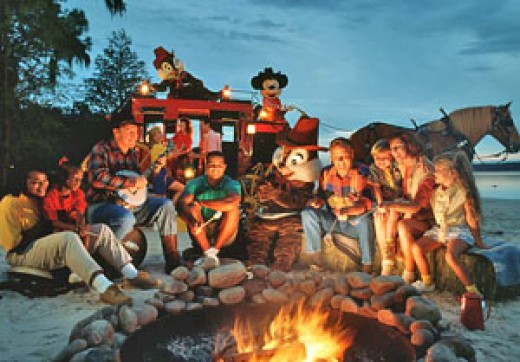 Chip N Dale Campfire Sing-A-Long