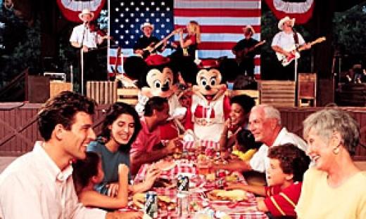 Mickey's Backyard B-B-Q