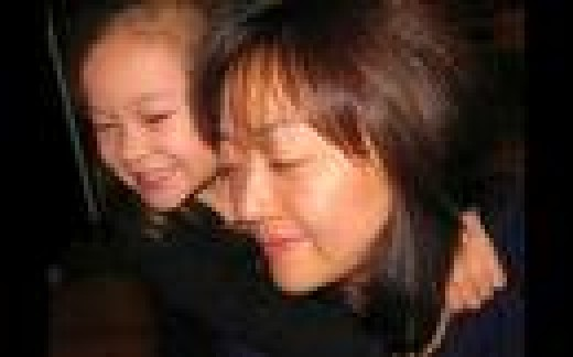 Euna Lee With Her Daughter