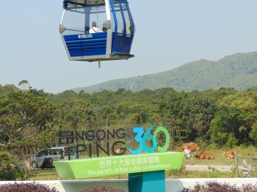 Ngong Ping 360 - Cable Car