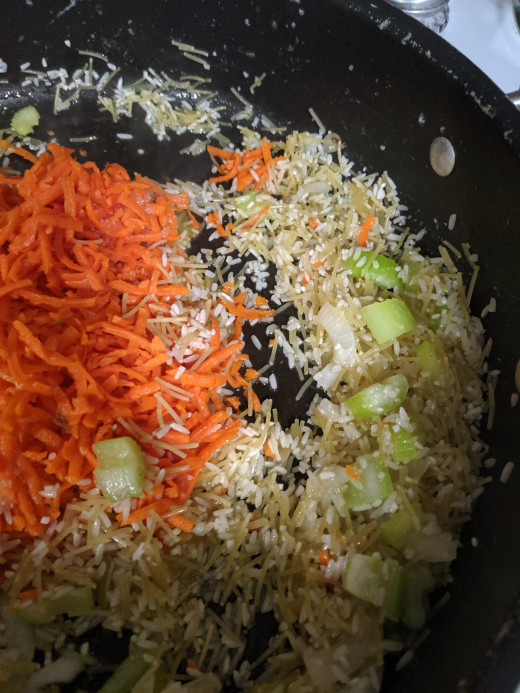 Add rice a roni
