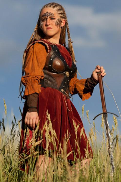 Celtic Britain Culture cornrows