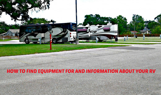 Where to find information about anything having to do with RV ownership.