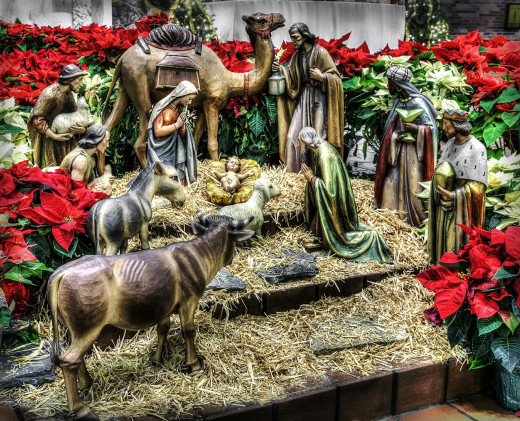The nativity of the Christ Child