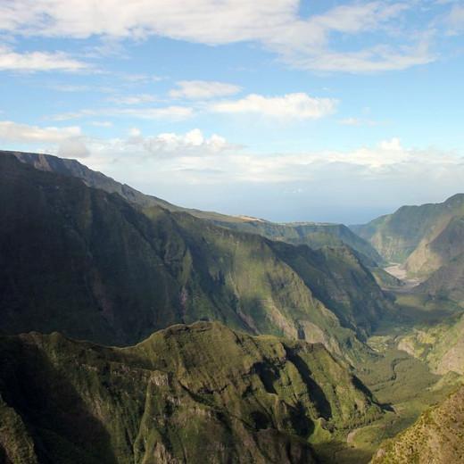 Réunion Island Mountain View