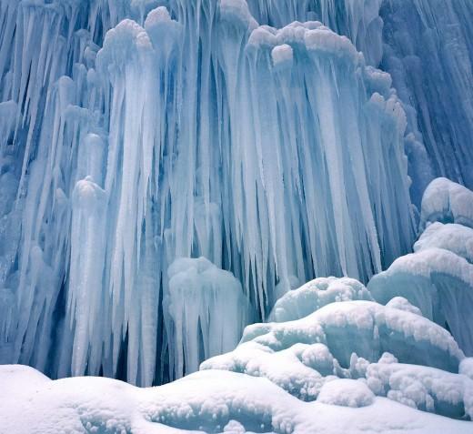 Frozen Waterfall - Yoho National Park