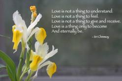 Invitation to Love. Monday's Inspiration 56, a Dedication to Lorna Lamon