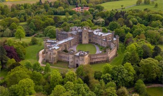 Brancepeth Castle near Durham