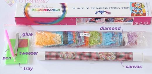 complete diamond painting kit