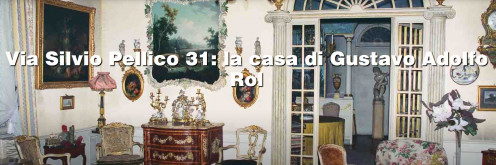 a view of Rol's apartment in Turin.