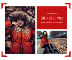 Girl in the Red Parka: Getting Through the First 1000 Words