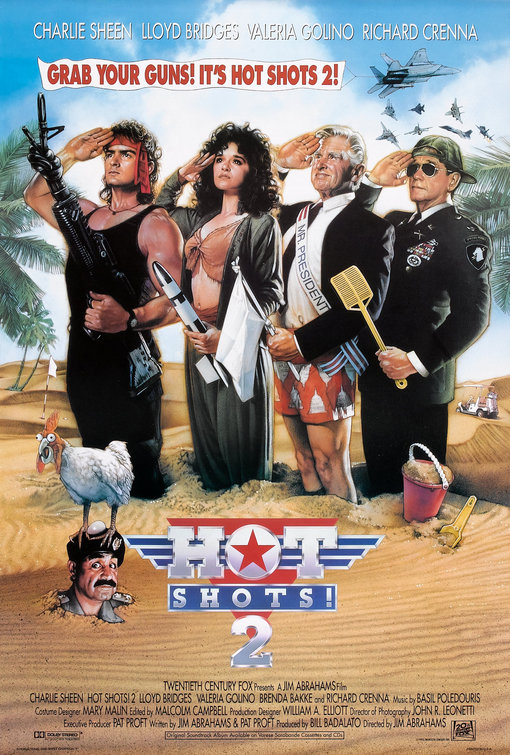 Hot Shots Part Deux Poster