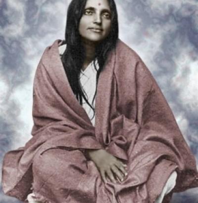 The Seeress Ananda Mayi Ma of India