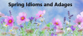 Spring Idioms and Adages