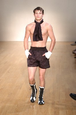 Mens boxer shorts have even made their impact on the fashion runway!