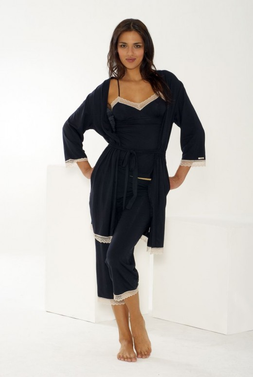 Womens sleepwear doesn't have to reveal a lot in order to be very sexy!