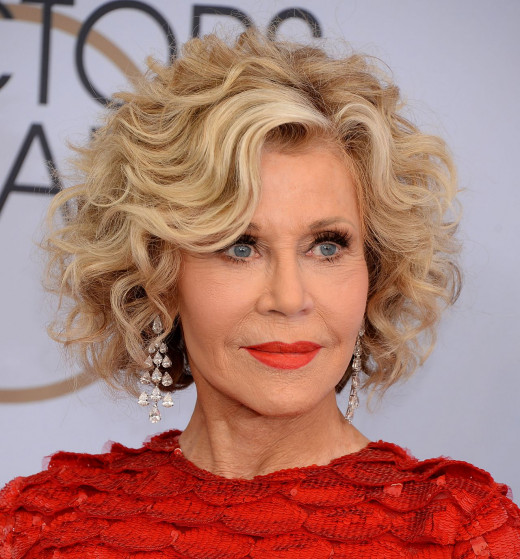 Fonda was still an active part in Hollywood.
