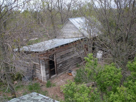 Our farmstead was settled about 90 years ago. This is the original house. You can see why nature and history are an everyday reality for us.