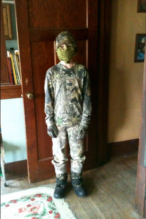Knitting and crocheting are good exercises in following instructions, using colors, and fine motor skills. My son designed and made himself a hunting mask with yarn which he bought himself.