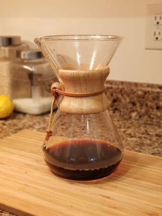 My Chemex Brewer