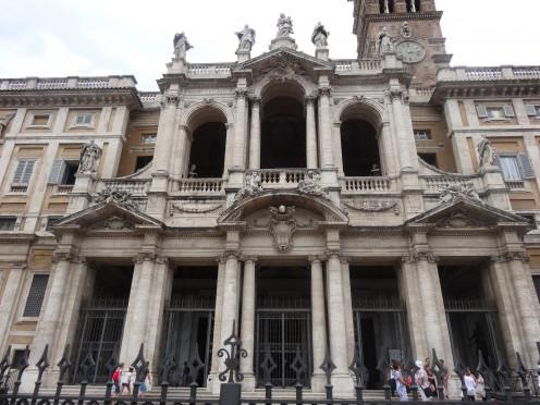 Basilica of Saint Mary Major. Santa Maria Maggiore (Rome)