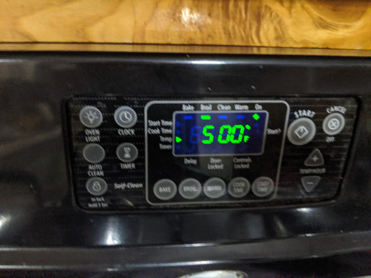 Set timer for 5 minutes. Check for Browning. If not brown, broil additional minute. Just don't burn the bread
