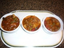 Yummy menudo can be eaten by itself for those on low carb diet...:P