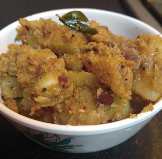 Chettinad Spicy Potato Fry