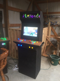Build an Arcade for Your Garage