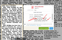 Warning - Obituary Errors on Ancestry.com