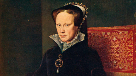 His older half-sister Mary was patient. She would bide her time until the day came in 1553 when he succumbed to poisoning, reputedly by the Dudleys to install cousin Lady Jane Grey on the throne