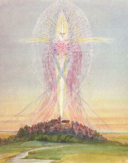 An image of a Devas - nature spirit...