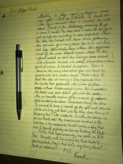 This is what the originally written version looked like. Yes yes, many changes, much errors.