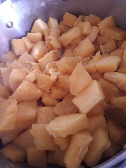 Chunks Of Pumpkin